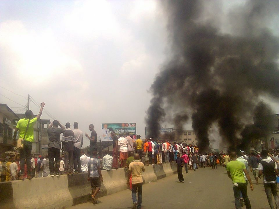 Pro Biafra Protest Turns Bloody In Aba(Graphic Photos)