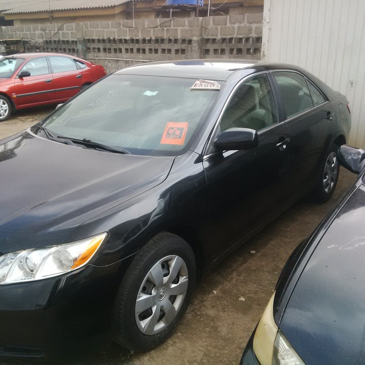 2008 toyota camry le tokunbo 2m autos nigeria. Black Bedroom Furniture Sets. Home Design Ideas