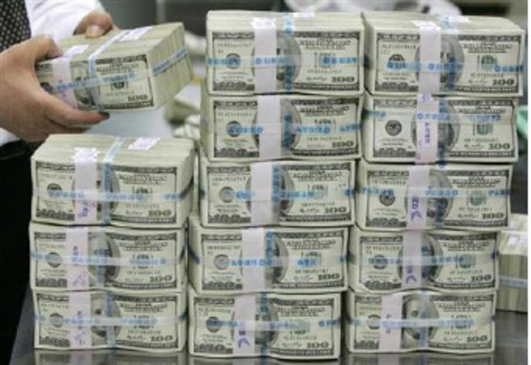 Nigeria's foreign reserves downed by $702m in May