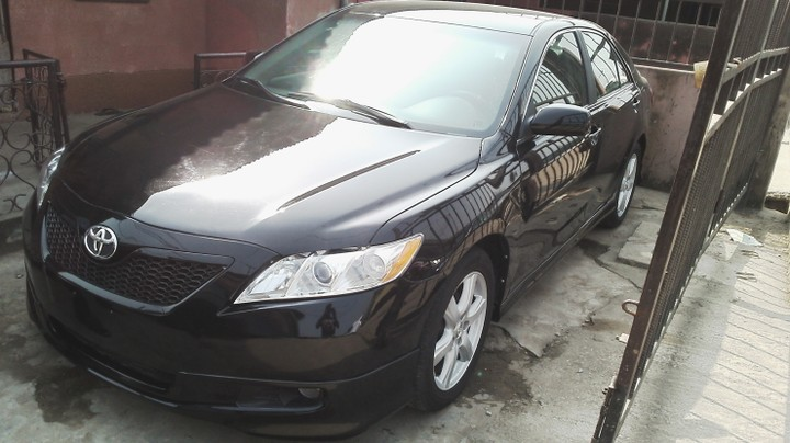 clean toks 2008 toyota camry sport edition se leather seat alloy autos nigeria. Black Bedroom Furniture Sets. Home Design Ideas