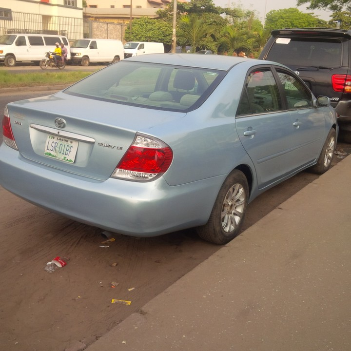 2006 toyota camry registered for sale autos nigeria. Black Bedroom Furniture Sets. Home Design Ideas