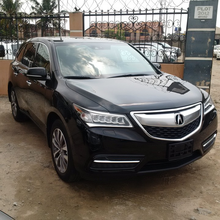2015 Acura Mdx X 3(black,blue Nd White,non Accidented,best