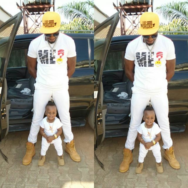 Jnr Pope And Son Rock Matching Outfit