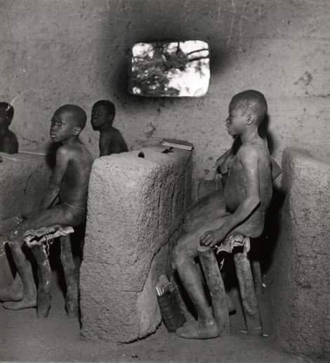 This Was How The Classrooms Were In Nigeria In 1950