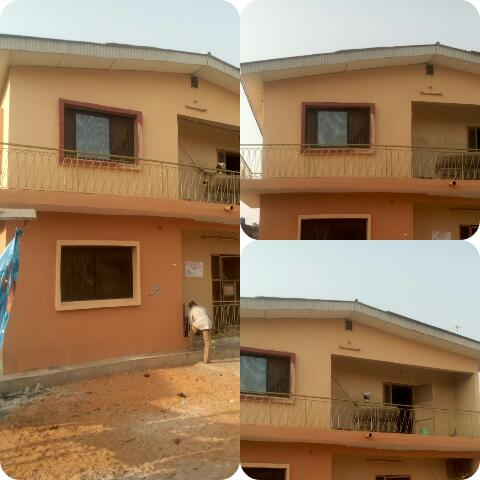 Painting pictures of gbadexy 39 s house properties nigeria for House painting in nigeria