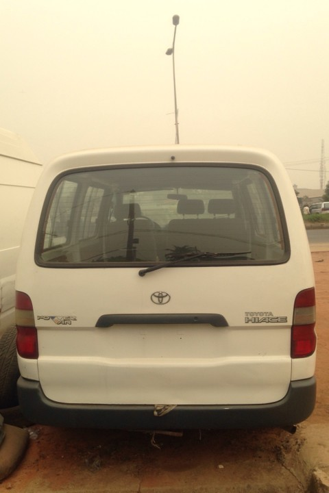 Foreign Used Rav4 Price >> Tokunbo Toyota Hiace Of 02 With Dieseal Engine For 1.5m Call 08059036172 - Autos - Nigeria