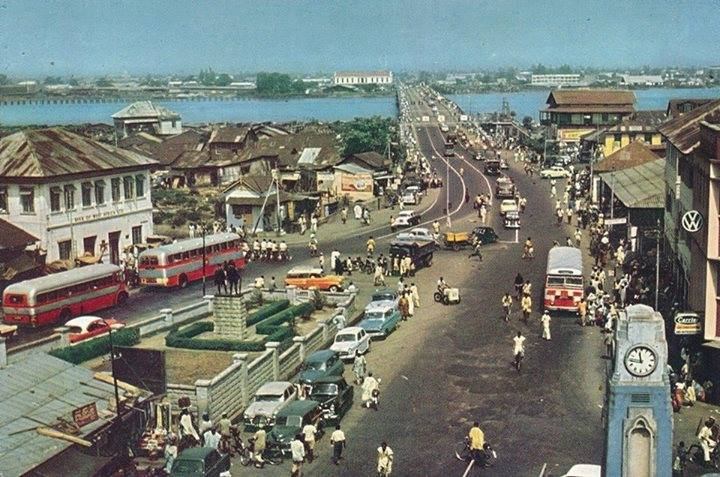 What Lagos And Its Environs Looked Like In The 40 S 60 S