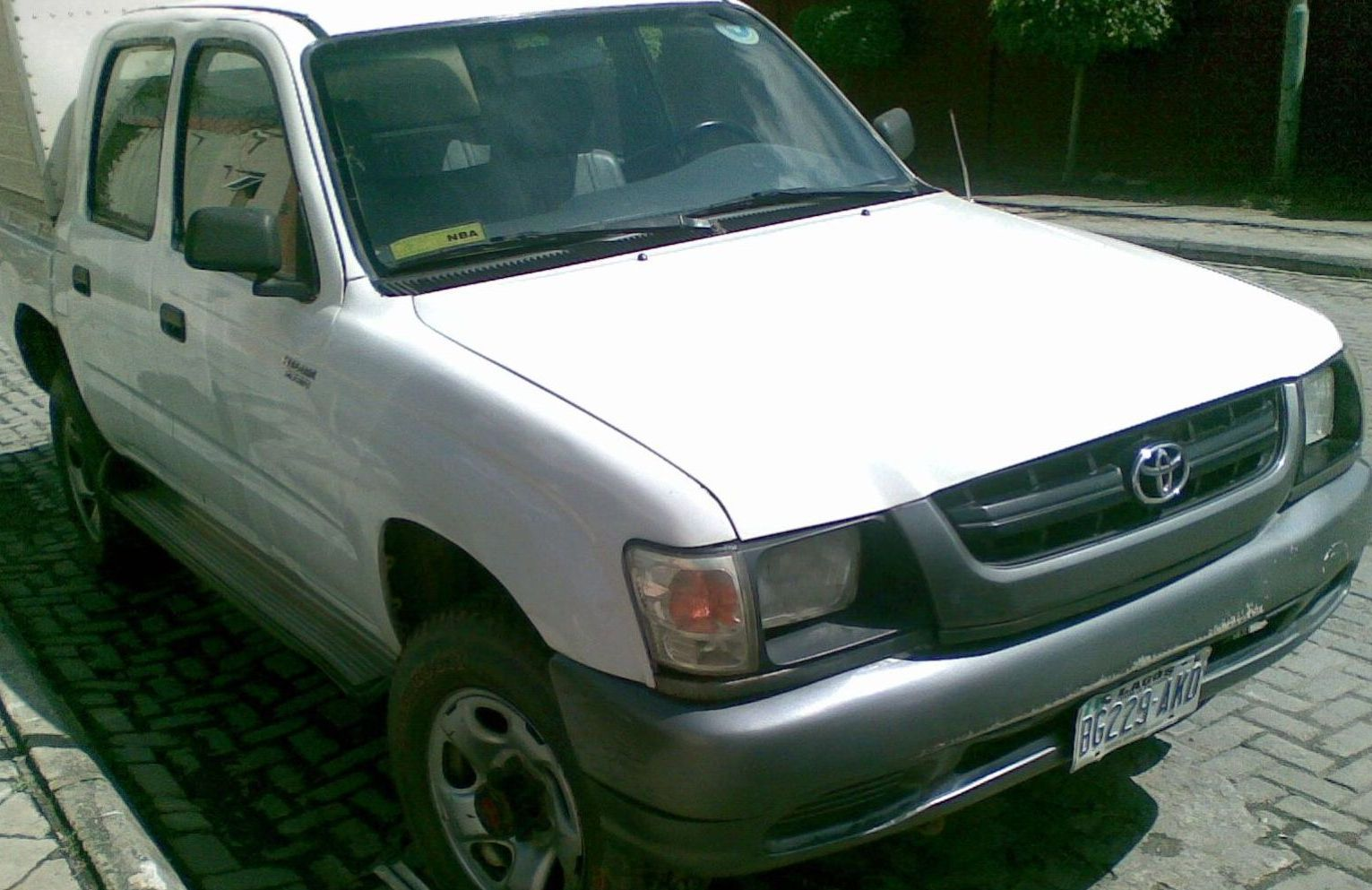 2005 Toyota Hilux Double Cabin Pick Up For Sale Asking