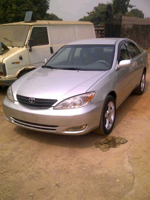clean naija used toyota camry 04 autos nigeria. Black Bedroom Furniture Sets. Home Design Ideas