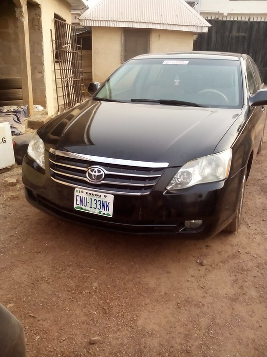 one month used 2006 toyota avalon xls for sale autos nigeria. Black Bedroom Furniture Sets. Home Design Ideas