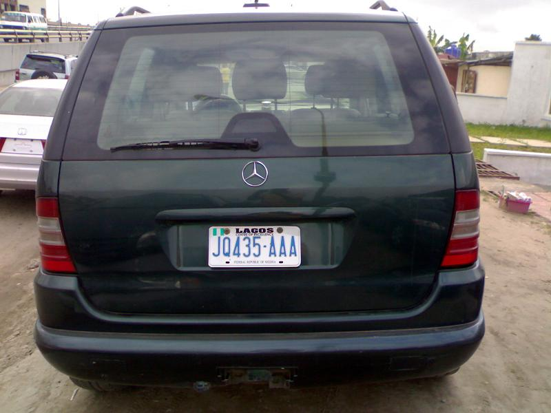 2001 mercedes benz ml jeep used for sale for Mercedes benz jeep for sale