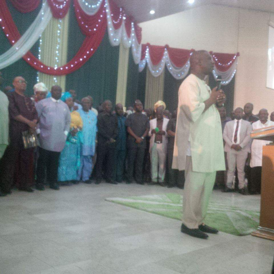 Peterside & APC Rivers Hold Thanksgiving Service Over Supreme Court's Judgement