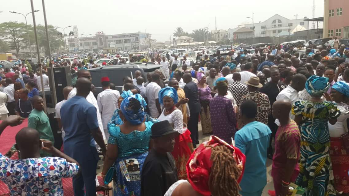 Peterside & APC Rivers Hold Thanksgiving Service Over