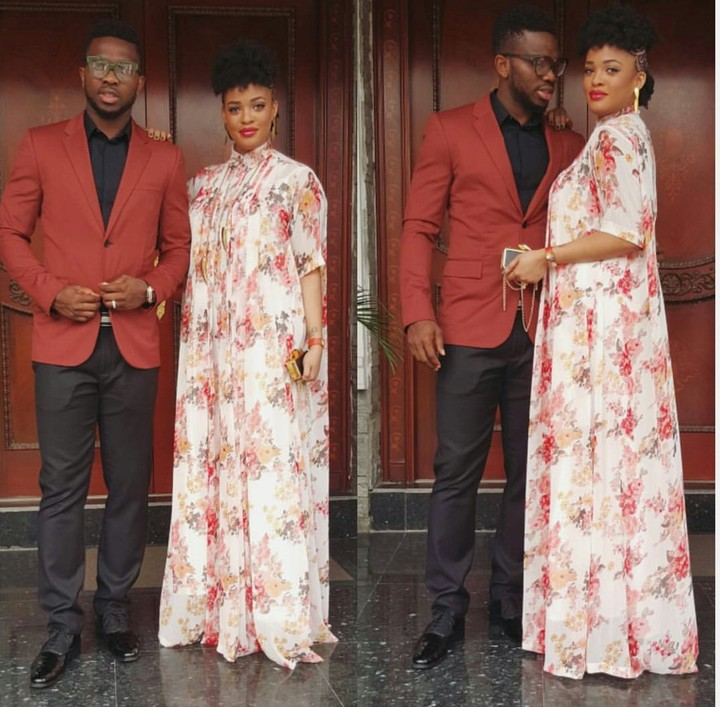 Joseph Yobo And Adaeze Yobo Step Out In Style