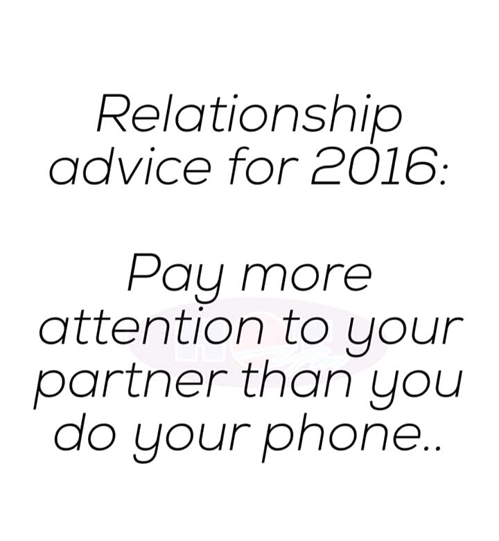 Relationship Advice For 2016 - Romance - Nigeria