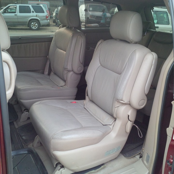 Registered 2005 Toyota Sienna XLE