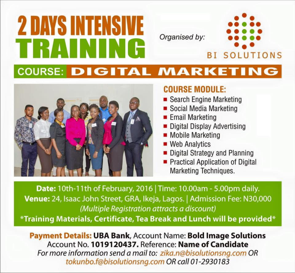 digital marketing for smes career ia marketing strategy to your overall marketing strategy you are guaranteed massive returns on investment this is a practical session