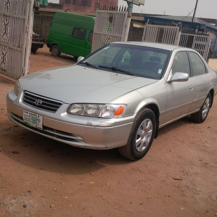 SOLD Clean Reg 2001 Toyota Camry Droplight