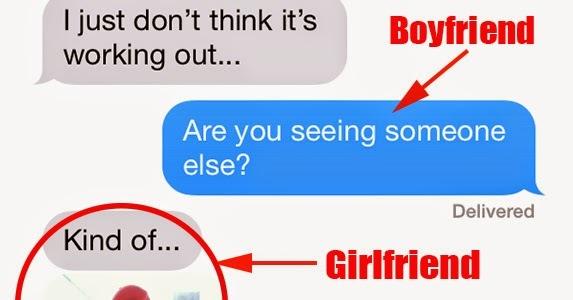 Signs my ex girlfriend is dating someone else