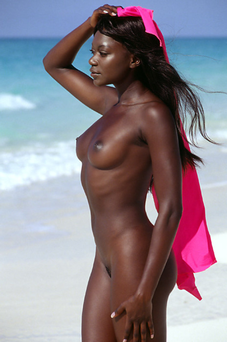 Nude Black Women At The Beach