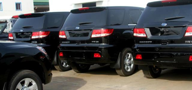 Innoson Cars May Be Used As Official Cars For National