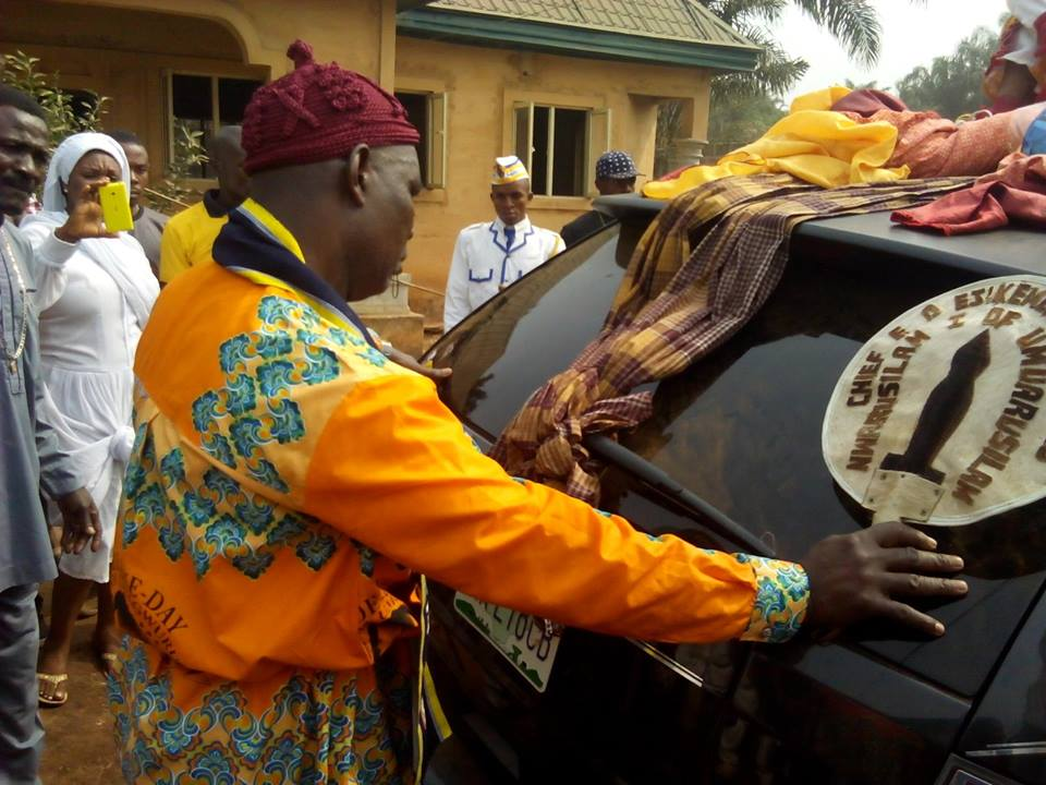 Photos from the burial of late Nollywood actor, Dede One Day