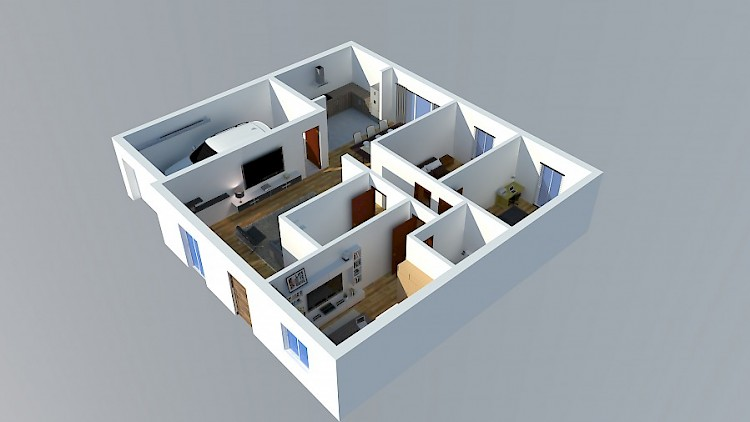 How Much Would It Cost Me To Complete This 3Bedroom Bungalow ...