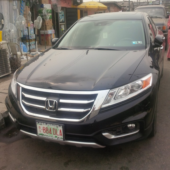 honda crosstour 2014 model for sale autos nigeria. Black Bedroom Furniture Sets. Home Design Ideas