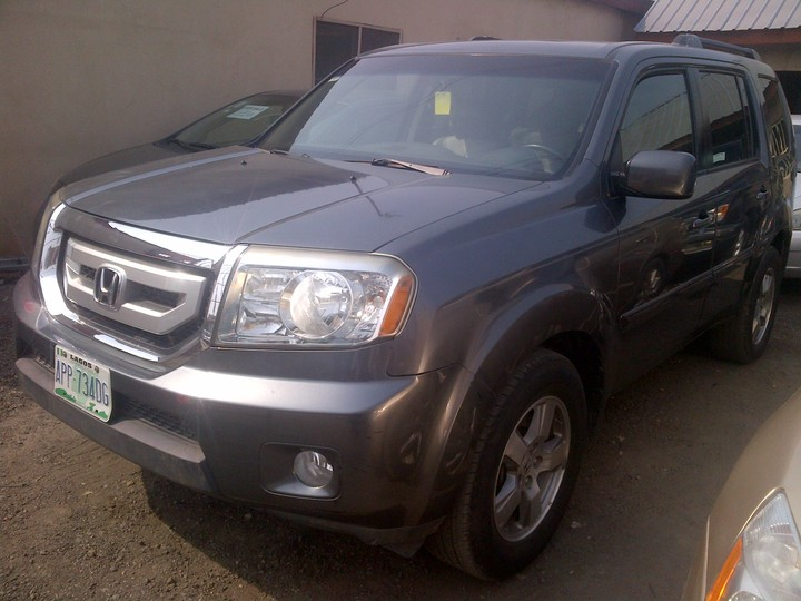 Lagos 10 months used 2010 honda pilot autos nigeria for Used honda pilot 2010