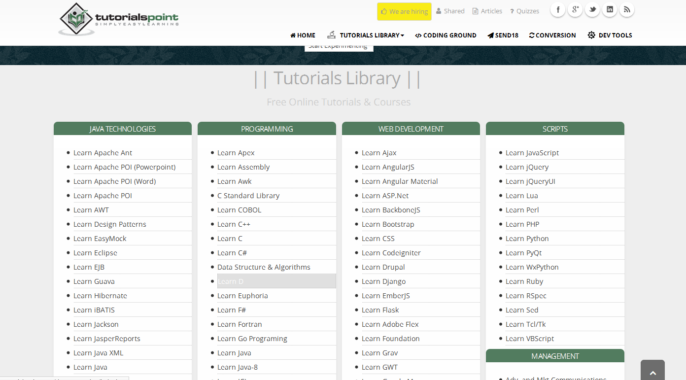 Download tutorials point full website for offline use computers have fun baditri Gallery
