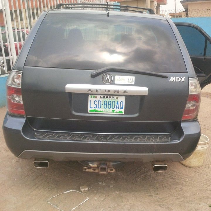 Neatly Used 2005 Acura Mdx With Nav @ 1.150m