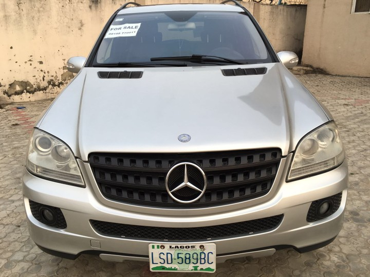 Grey mercedes benz ml350 for sale autos nigeria for Mercedes benz inspection cost