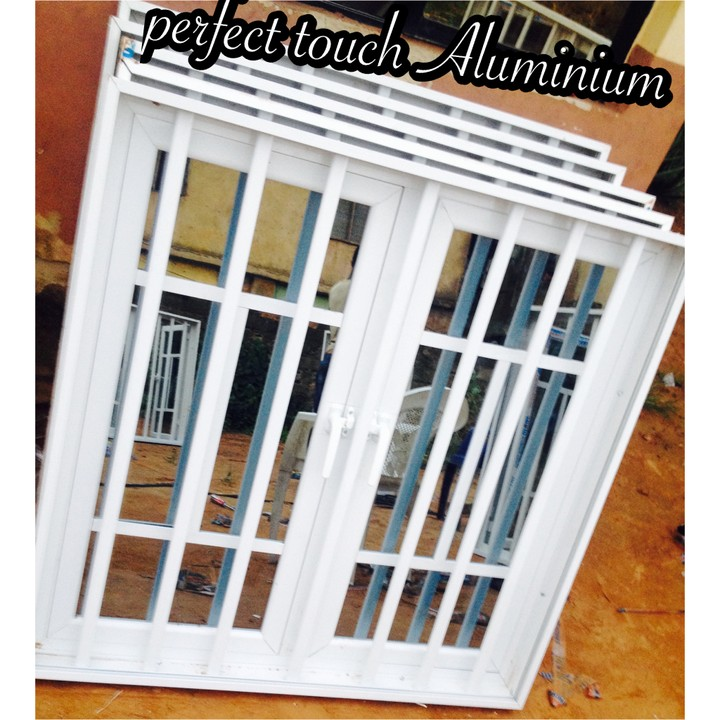 Professional touch in aluminium fabrication windows doors for Nigeria window design