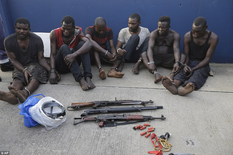 Pirates Captured By Navy After They Hijacked Oil Tanker (Photos)