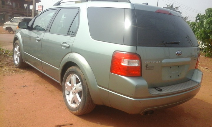 ford freestyle suv 2007 model tokunbo for sale autos. Black Bedroom Furniture Sets. Home Design Ideas