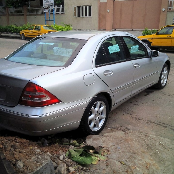 Toks mercedes benz c240 2004 at a give away price for Mercedes benz c240 price