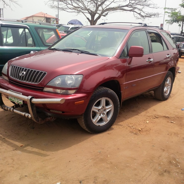 2000 lexus rx300 registered for sale autos nigeria. Black Bedroom Furniture Sets. Home Design Ideas
