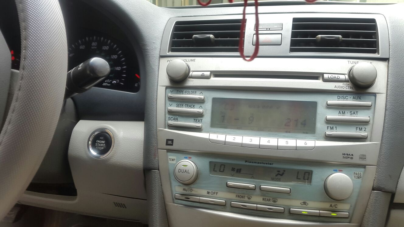 Toyota Camry XLE With Push Button 2008 Registered @ #1 6
