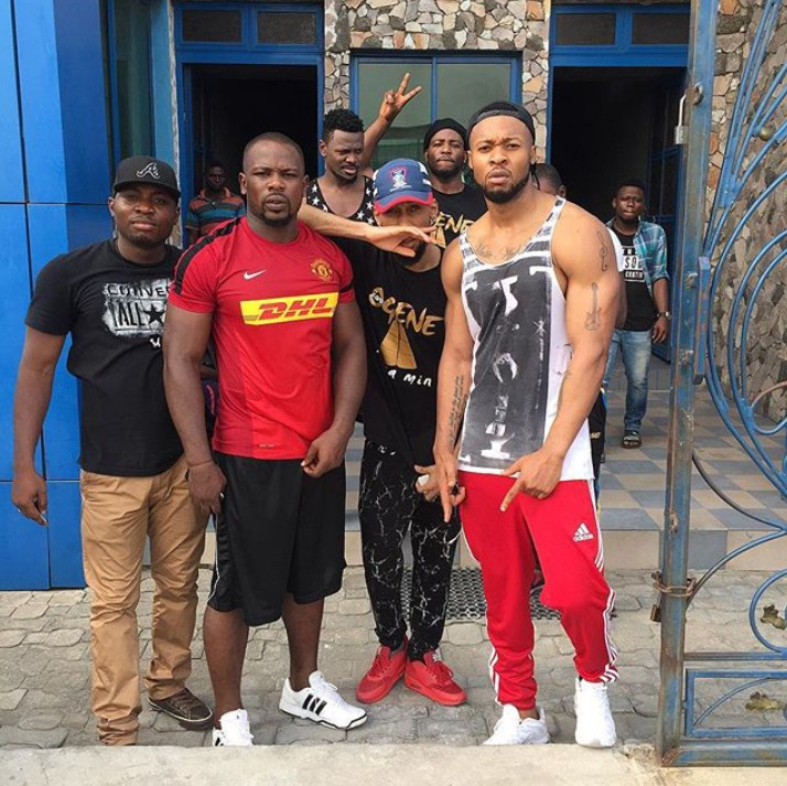 Welcome to Amebo community: Flavour Looks Like Phyno's