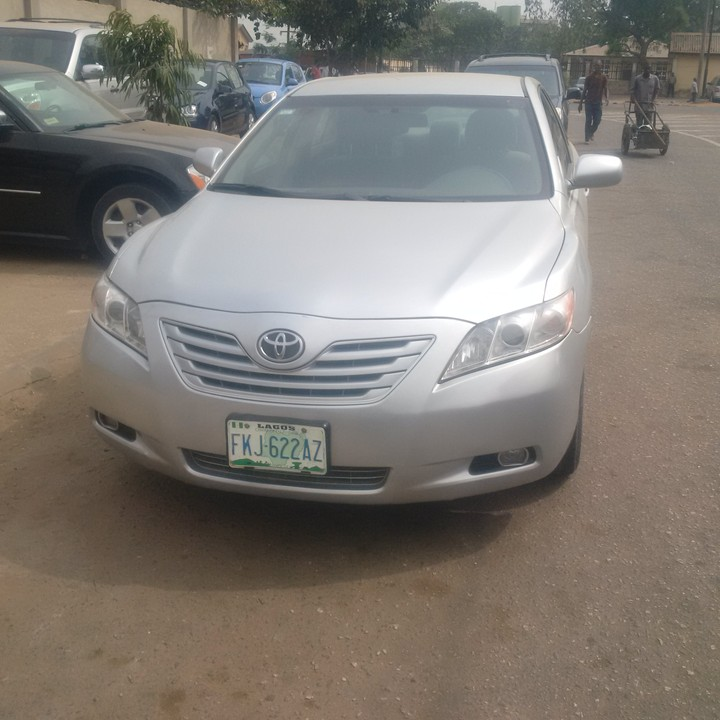 toyota camry 2008model for sale price call 08131267376 08054560774 a. Black Bedroom Furniture Sets. Home Design Ideas