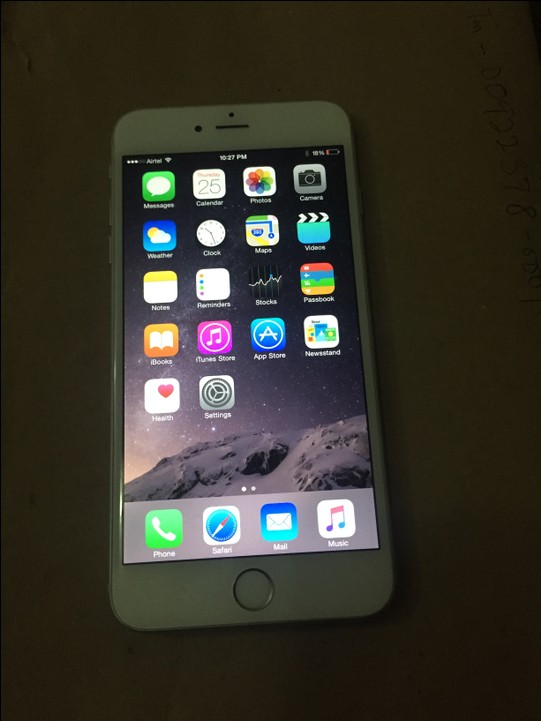 used iphone 6 plus neatly used iphone 6 plus 64gb silver factory unlocked 16375