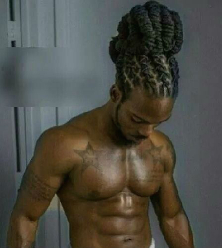 Sexy men with dreads