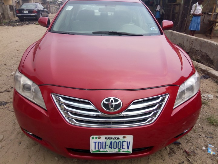 registered 2007 toyota camry spider aka muscle for sale autos nigeria. Black Bedroom Furniture Sets. Home Design Ideas