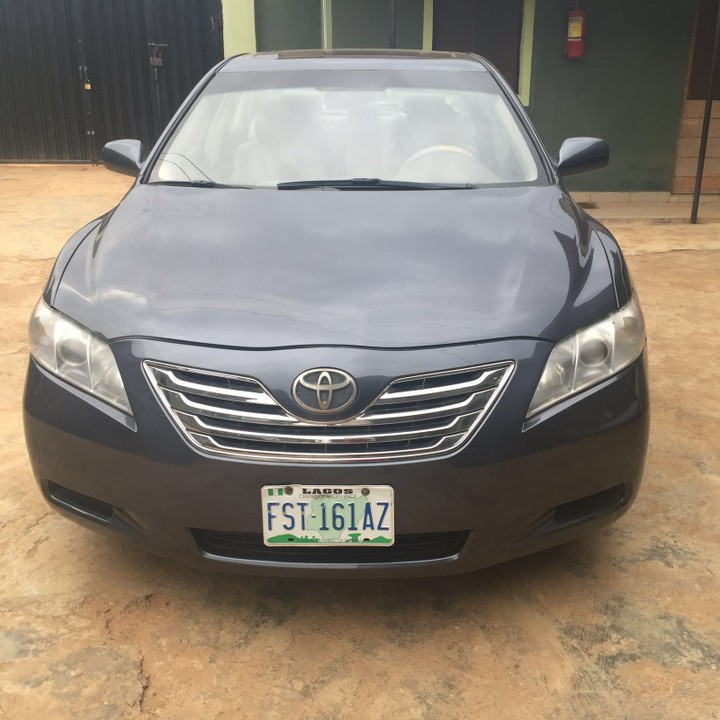 clean reg 2008 toyota camry for sale autos nigeria. Black Bedroom Furniture Sets. Home Design Ideas