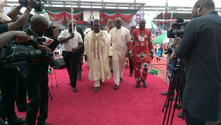Ali Modu-Sheriff, Fayose, At Wike's Thanksgiving Service In Rivers State (Photos