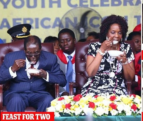 Mugabe's Lavish $1m 92nd Birthday Celebration-Photos