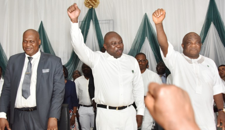 Governor Ambode Wears School Uniform To His Alma Mater, FGC