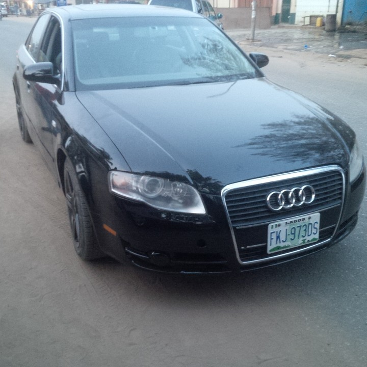Audi A4 For Sale Near Me: Super Clean Used Audi A4 2004 Model For 950k