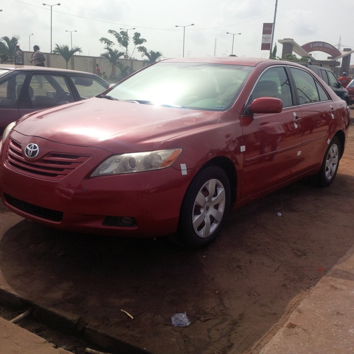 2008 toyota camry tokunbo for sale very cheap autos. Black Bedroom Furniture Sets. Home Design Ideas