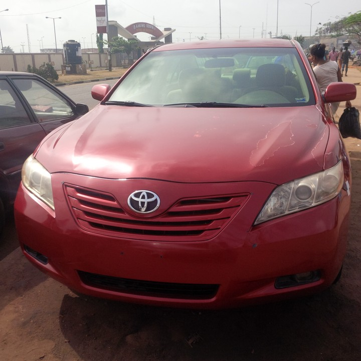 2008 toyota camry tokunbo for sale very cheap autos nigeria. Black Bedroom Furniture Sets. Home Design Ideas